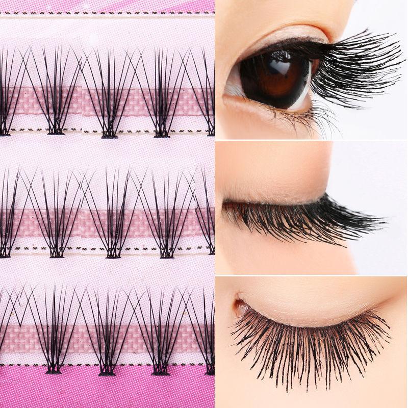 Curl Natural Individual Cluster Eyelash False Eyelashes Extension 8