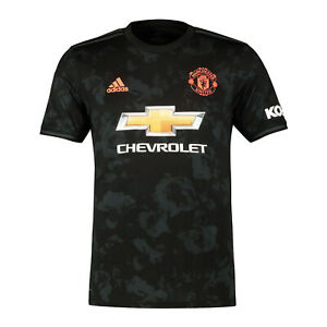 wholesale dealer 3df1b 73423 Details about Manchester United FC Official Football Gift Mens Third Kit  Shirt 2019/20