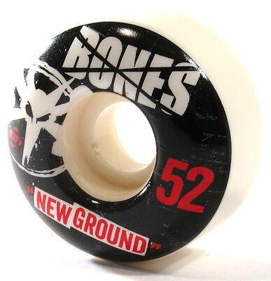52mm BONES WHEELS Skateboard Rollen STF Formula - NEW GROUNDS