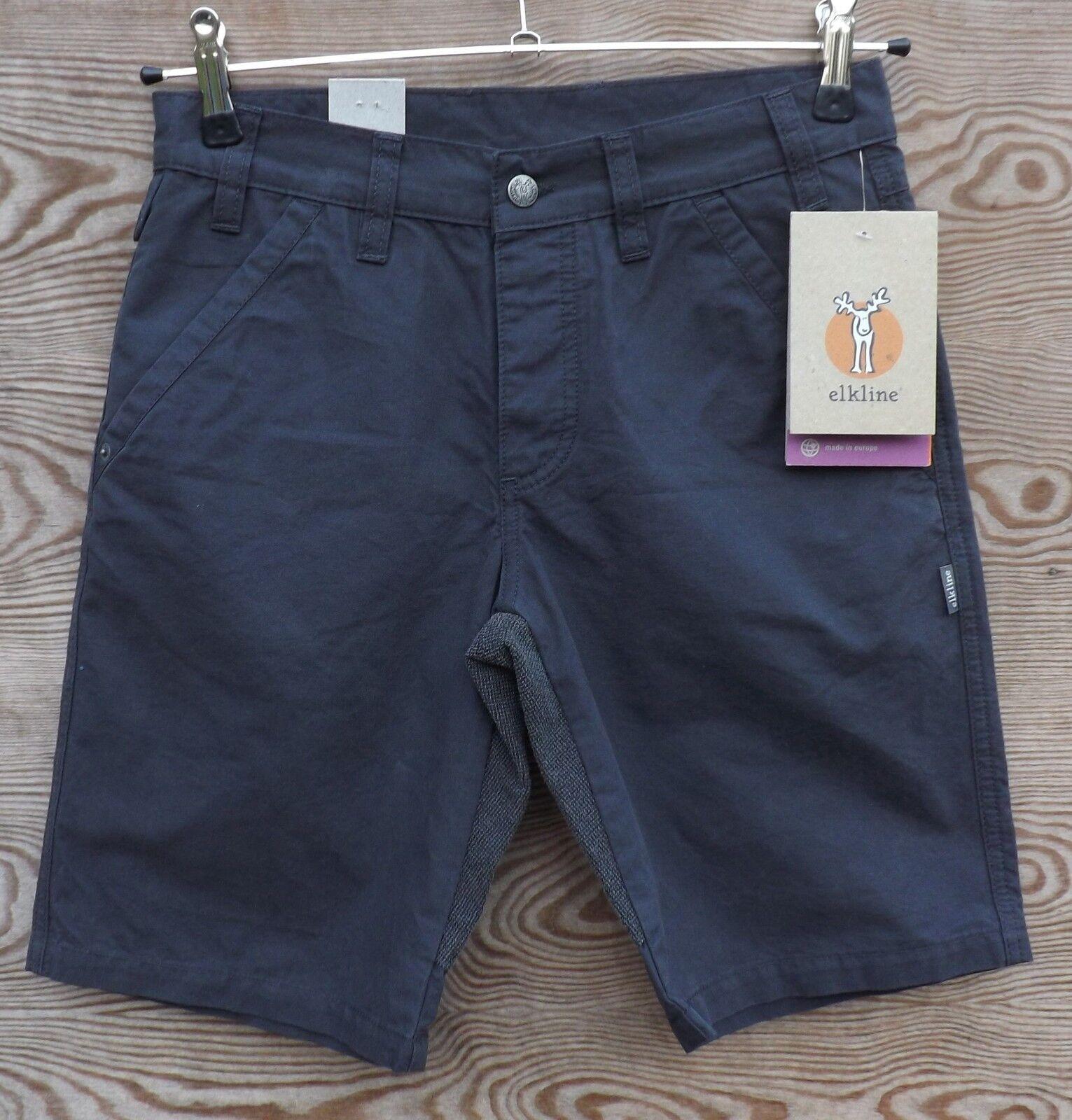 Elkline geht-was - shorts para Exterior con refuerzos hombre, antracita, size S