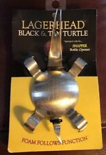 Brutul Large Head Black /& Tan Turtle Spoon Stainless Steel Bartending Tool