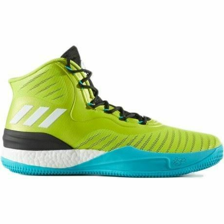 Adidas Derrick pink 8 Boost CQ0828 Mens Basketball BootsUK Sizes 6 to 17