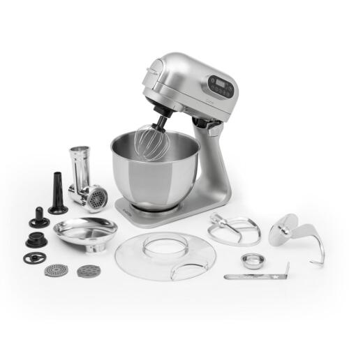 Impastatrice Planetaria Robot Cucina Professionale Monta Albumi Tritacarne Silve