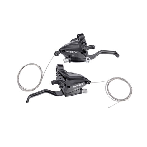 SHIMANO Brake Shifter Set Bike Brake Levers /& Shift Levers EF500-7 3x7S