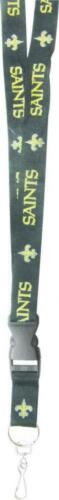 Forever Collectibles New Orleans Saints NFL Lanyard Keyring Schluesselband New