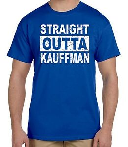 Funny straight outta kauffman t shirt kc royals bad boys for Straight from the go shirt