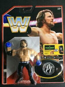 WWE-Mattel-AJ-Styles-Retro-Figure-Series-3