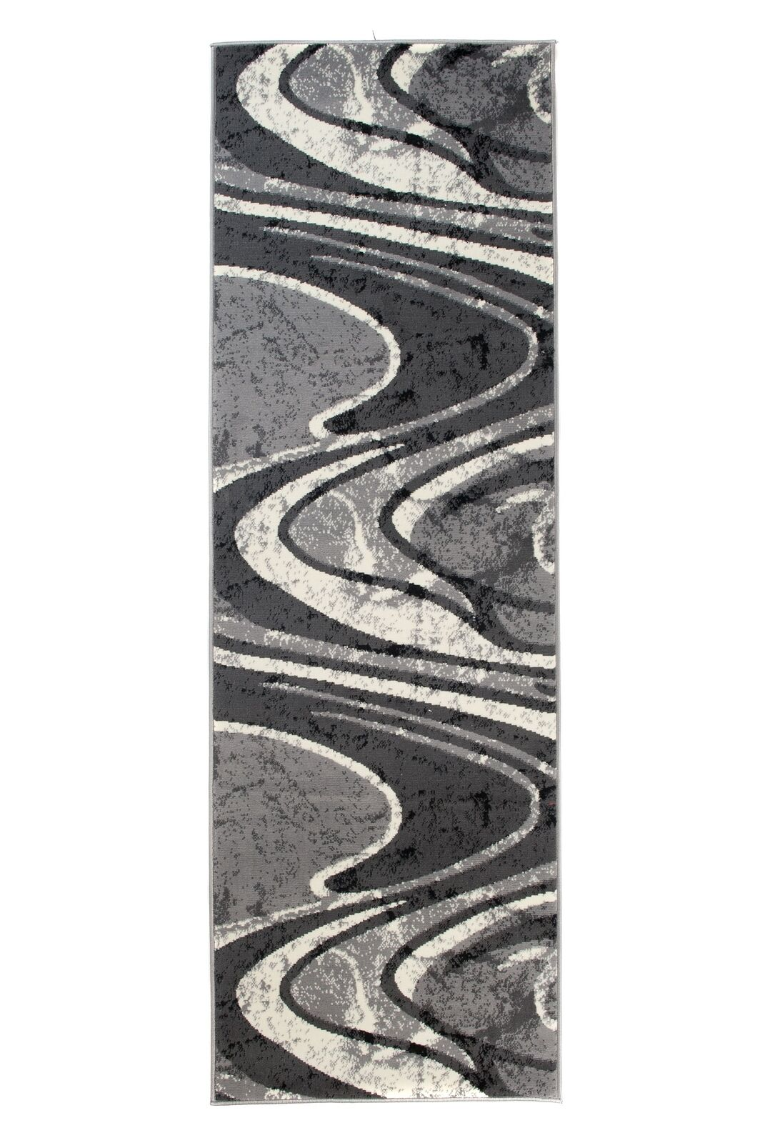 Läufer Teppich Grau Küche Flur Flur Flur Kurzflor Modern 70x200 80x200 100x300 + | Qualitätsprodukte  1101e3