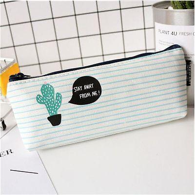 Bolsa de Lápiz Estuche Lona Material Escolar Caja de Escritorio Estuches Lápices