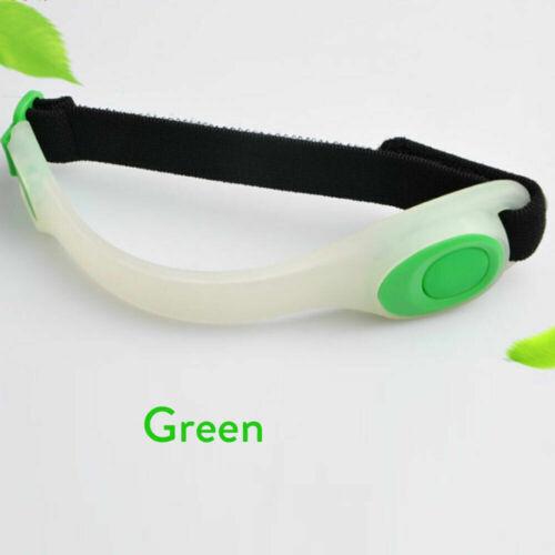 Outdoor Sports Night Running Armband Led Light Safety Belt Arm Warning Wristband