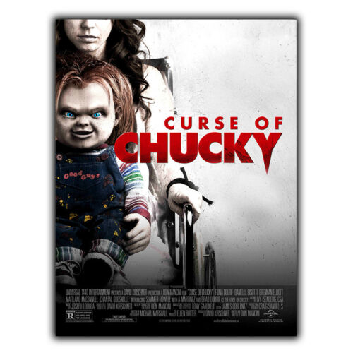CHILD/'S PLAY 6 Curse of Chucky SIGN METAL WALL PLAQUE Film Movie Advert poster