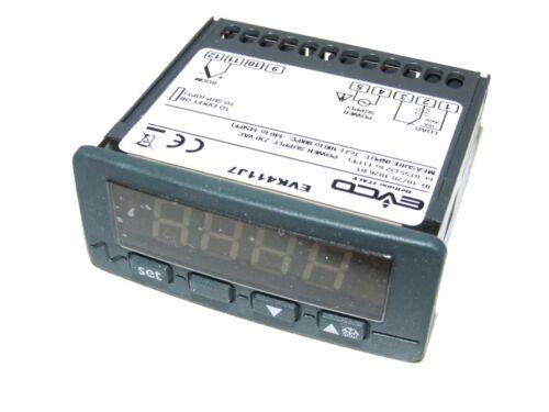 EVCO EVK411J7 DIGITAL THERMOSTAT CONTROLLER  230V 200 TO 800deg C J//K HI PROBES