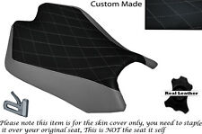 DIAMON STITCH GREY CUSTOM FITS APRILIA RSV4 R 1000 09-15 FRONT SEAT COVER