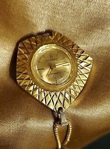 ESTATE LUCERNO ANTIMAGNETIC  SWISS MADE WATCH NECKLACE WINDUP