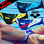 Arena-AST13104-Competition-Swimwear-Swimsuit-Swim-Swimming-Trunks-Briefs thumbnail 2