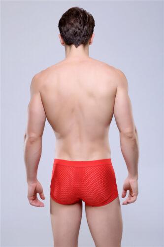 "Men/'s Underwear Breathable-Design Boxer shorts Size Waist 26/"" to 40/"" #091"