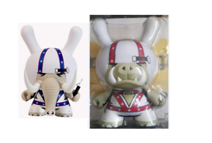 ◆Kidrobot 2013 Locodonta Dunny blueE & RED SDCC Exclusive SIGNED by JPK 8 +3  LOT