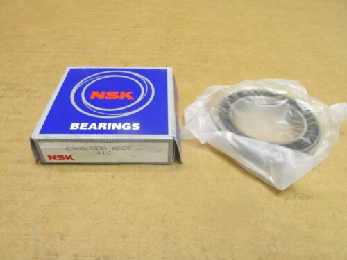 NSK 6909VV BEARING RUBBER SEALED 6909 VV CM 6909-2RS-C3 45x68x12 mm JAPAN