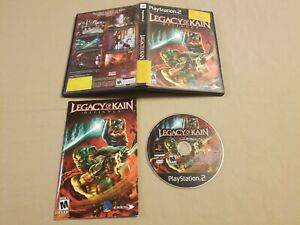 Legacy-of-Kain-Defiance-Sony-PlayStation-2-PS2-Video-Game-Complete-With-Manual
