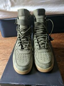 ea82373acf nike air force 1 high sf special field Faded Olive sz 8.5 VNDS | eBay