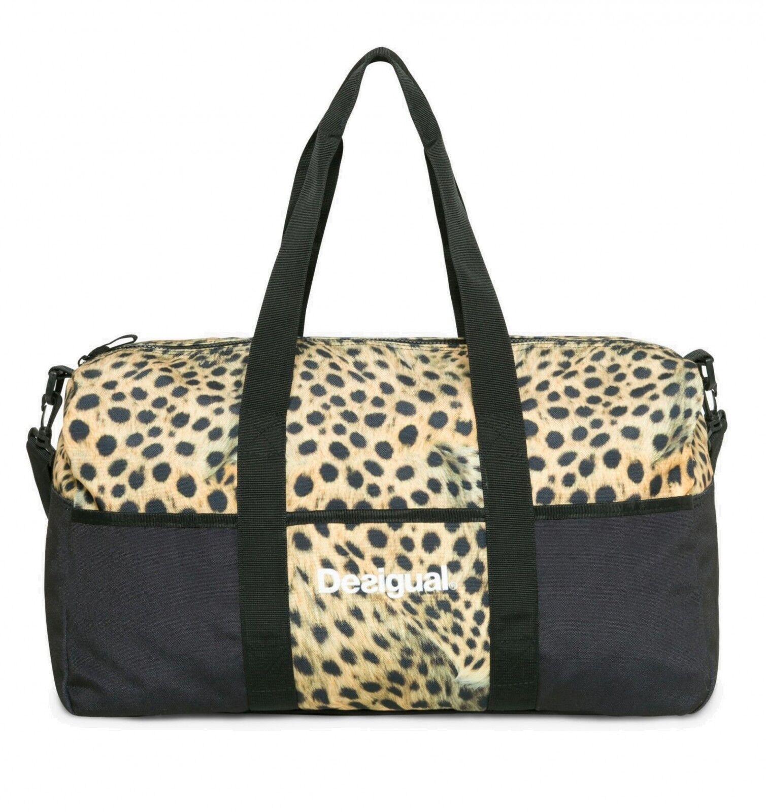 Desigual Bolsa De Viaje Bols Life Bag W black