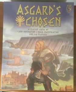 Asgard's Chosen Board Game By Mayfair Games *NEW/SEALED*