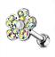 Tragus-Bars-Small-Helix-Bar-Crystal-Earring-Ear-Cartilage-Body-Piercing-NEW-UK thumbnail 80