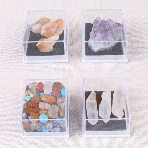 Mixed Natural Rough Stones Raw Rose Quartz Crystal Mineral Rocks Supply Decor