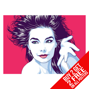 BUY 2 GET ANY 2 FREE BJORK POSTER PHOTO ART PRINT A4 A3 SIZE