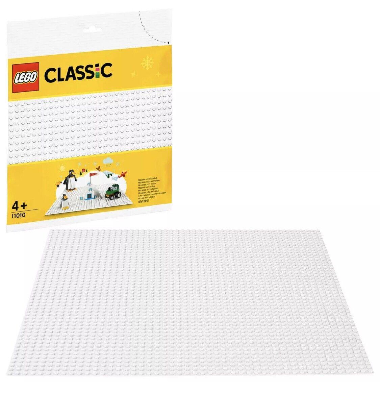 LEGO Classic 11010 Weiß Baseplate 32x32 (5x) - Winter - Christmas - Selead New