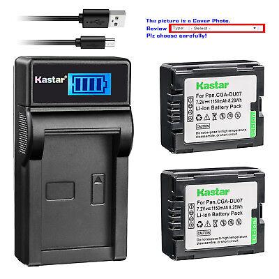 Ultra Slim Usb Cargador De Batería Para Panasonic CGA-DU06 CGA-DU07 CGA-DU12 CGA-DU14
