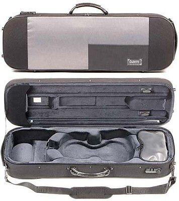 Bam France Stylus 5001S Black 4/4 Violin Case - AUTHORIZED DEALER!