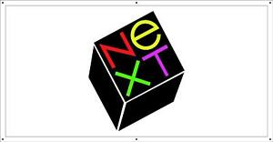 Used NeXT 400 DPI Laser Printer Cable with NeXT Logo For NeXT Cube NeXTSTATION!