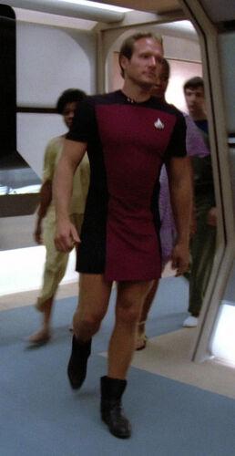 Star Trek Next Generation Men/'s Skant Uniform Pattern Cosplay