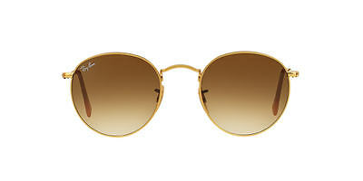 NEW SUNGLASSES RAY-BAN  ROUND METAL  50 RB3447 in Gold