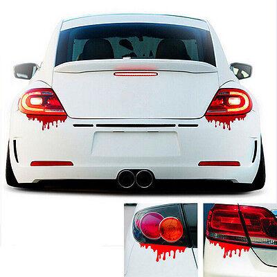 1 X Reflective Warning Car Stickers Blood Bleeding Decals Car Decor Best WB