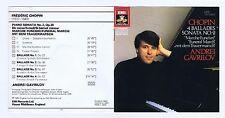 CHOPIN CD PIANO SONATA 2/ BALLADES 1.2.3.4 / ANDREI GAVRILOV
