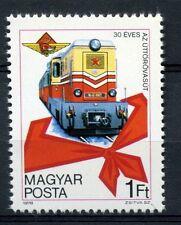 UNGHERIA 1978 sg#3196 Budapest Pioneer FERROVIA Gomma integra, non linguellato #a53374