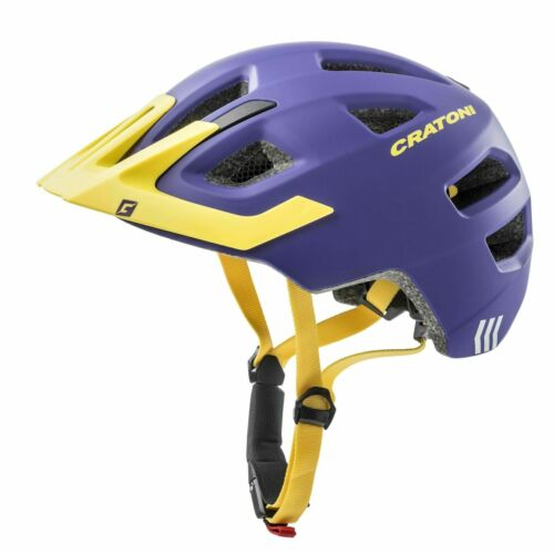 Fahrradhelm Cratoni Maxster Pro purple yellow Gr XS//S 46-51 cm neu OVP UVP 39,95