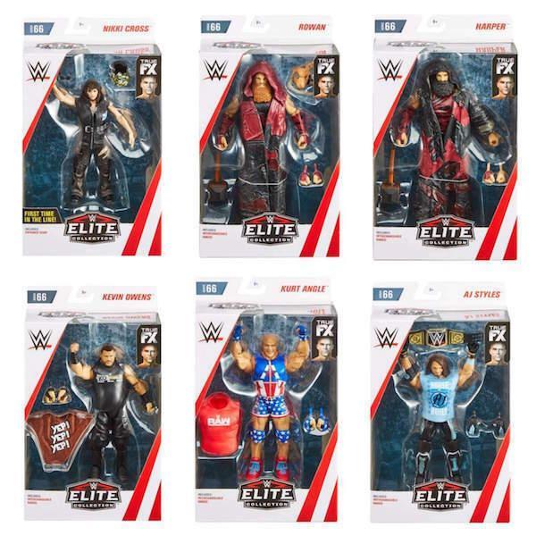 Wwe Scegliere Mattel Serie Élite 66 Nuova Fx Accessori Wrestling cifra Nxt Wwf