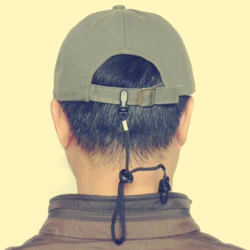 5Pcs  ADJUSTABLE HAT CLIP LIB LATCH BLACK HAT RETAINER