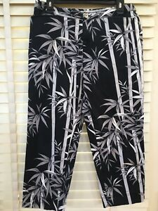 Tommy-Bahama-Women-039-s-10-Cropped-Pants-Capris-Tropical-Stretch-Cotton-Bamboo