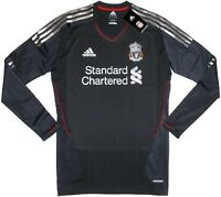 11/12 Liverpool Away TECHFIT Player Issue Football Shirt Soccer Jersey Top Kit