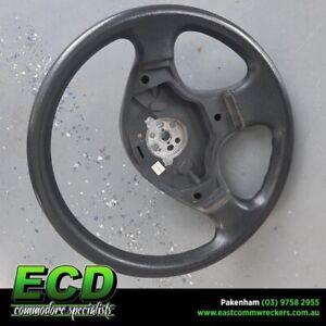 EXCELLENT-GM-Holden-Commodore-VR-VS-3-Spoke-Vinyl-Steering-Wheel-NON-Airbag