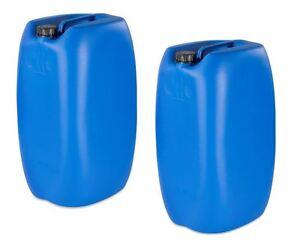 2 x 60 liter kanister blau camping plastikkanister wasserkanister neu ebay. Black Bedroom Furniture Sets. Home Design Ideas