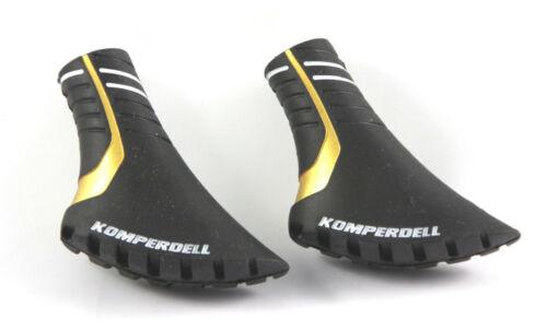 2 Color Pad gold vulkanisiert Komperdell Nordic Walking Gummipuffer Grip Pad