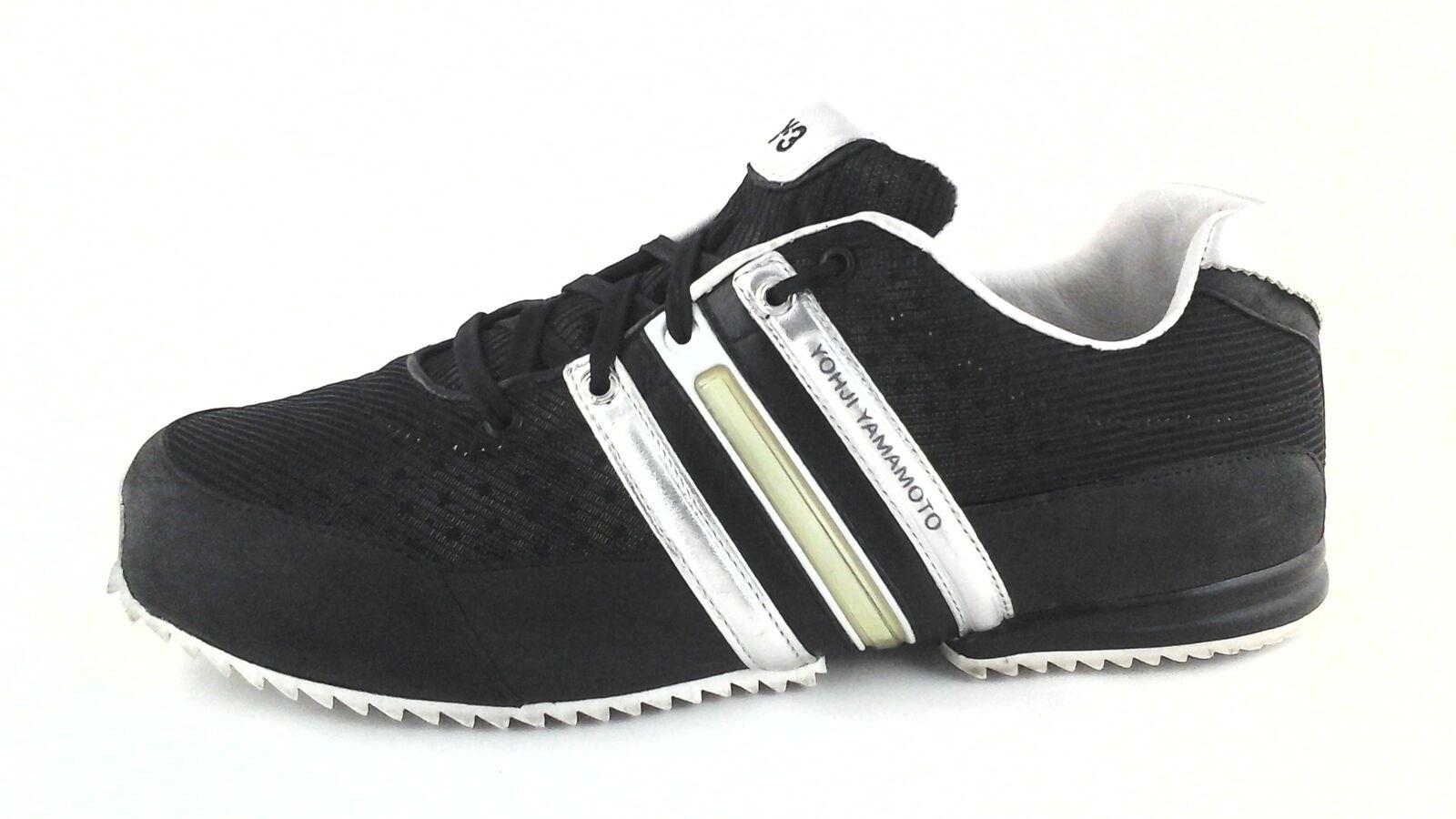 official photos b3dca acabd Adidas industriales Yohji Yamamoto Sprint negro   8 Plata zapatillas zapatos  US 8     3 Reducción de precio f3b416