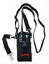 X Fire Radio Strap Firefighter Ems Emt Shoulder Holder Duty Holster Belt Combo