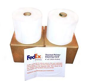 Details about 2 x FedEx 4x6