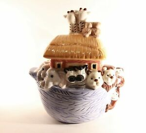 Ceramic-Jay-Import-034-Noahs-Ark-034-Cookie-Jar